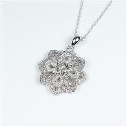 Beautiful Vintage style Diamond Pendant