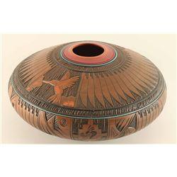 Navajo Humming Bird Pot