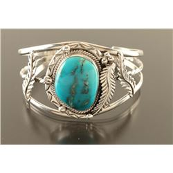 Navajo Blue Gem Cuff