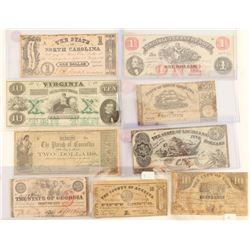 Lot of Currency from The Confederate States