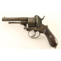 Unsigned Pinfire Revolver 11mm SN: 555