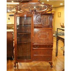 Victorian Antique Curio Cabinet