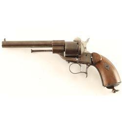 Spanish Lefaucheux Pinfire Revolver 12mm