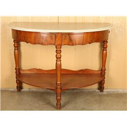 19th Century Marble Wall Console