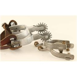 Lot of (2) Pairs of Spurs
