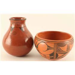 Lot of (2) Pots
