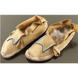 A Pair of Plains Indian Moccasins