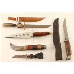Lot of (5) Knives
