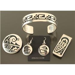 Hopi silversmith Weaver Selina Lot