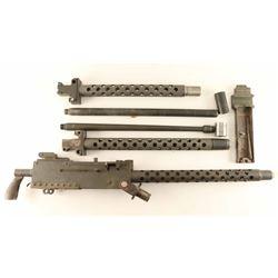 Display model 1919 machinegun parts lot