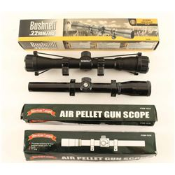 Lot of (4) Scopes
