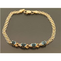Ladies Topaz Bracelet