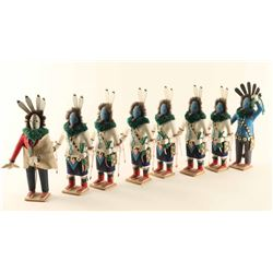 (8) Healing Ceremony Kachinas