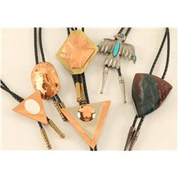 Lot of (6) Ladies Bolo Ties
