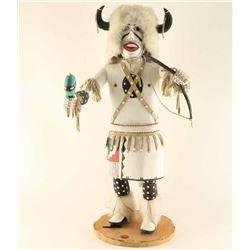Large White Buffalo Kachina
