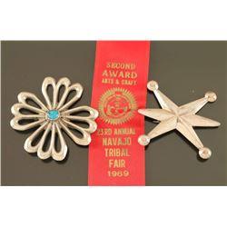 Lot of 2 Navajo Pins