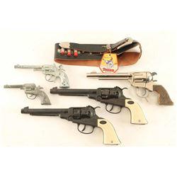 Lot of (5) Cap Guns