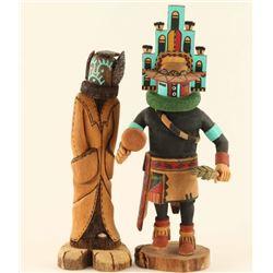 Lot of (2) Hopi Kachinas