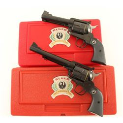 Ruger New Mdl Blackhawk 357/44 Matched Set