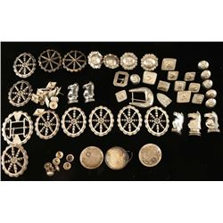 Leather Makers Decorations Lot