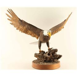 Beautiful Carved Eagle