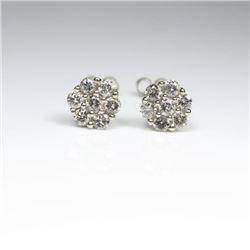 Dazzling Diamond Stud Earrings