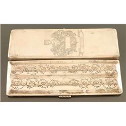 Vintage Sterling Silver Cigar Case