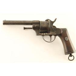 Spanish Army Pinfire Revolver 11mm SN: 188