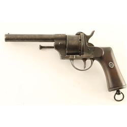 Spanish Army Pinfire Revolver 11mm SN: 188