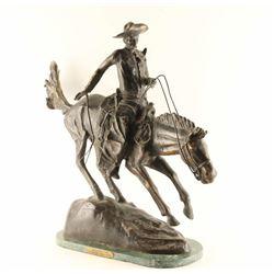 Frederick Remmington Bronze Restrike