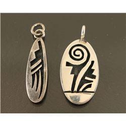 Lot of 2 Hopi Pendants