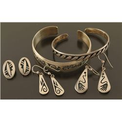 Lot of Hopi Jewelry