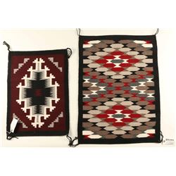 Lot of (2) Navajo Rugs