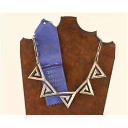 Navajo Sterling Necklaces