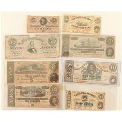 Lot of Confederate Currency