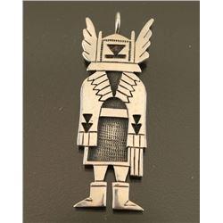 Hopi Sterling Kachina Pendant