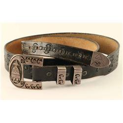 Hopi Buckle on belt