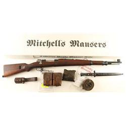 Yugoslavian M48 Mauser 8mm SN: W05597