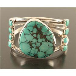 Navajo Piaute Turquoise Cuff