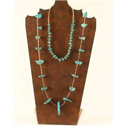 Collection of 2 Navajo Turquoise