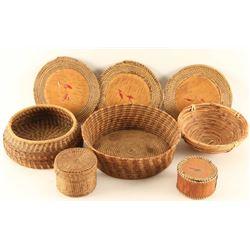 Lot of (7) Baskets