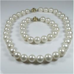 Opulent Strand of Fresh Water Pearls