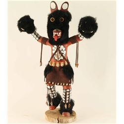 Fine Black Bear Kachina