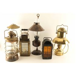Lot of (6) Antique Lanterns