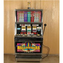 Balloon Bars 25 Cent Slot Machine