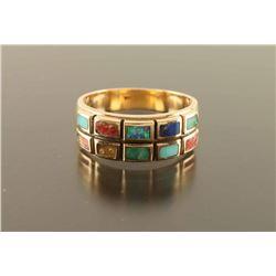 Ladies Multi Stone Ring
