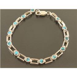 Sterling & Turquoise Bracelet
