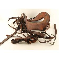US Cavalry Saddle
