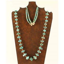 Navajo Turquoise Necklace & Jockla
