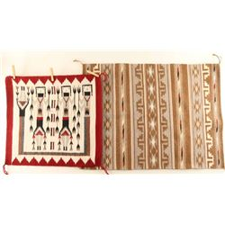 Lot of (2) Indian Rugs